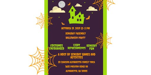 Sensory Friendly Halloween Party