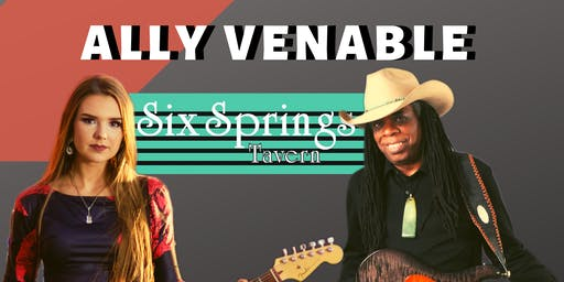 Ally Venable with Special Guest Larry Mitchell