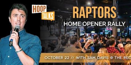 Hoop Talks Rally Party with Sam Davis tickets