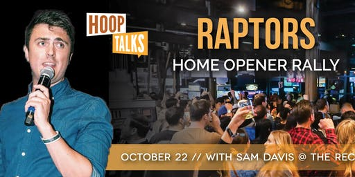 Hoop Talks Rally Party with Sam Davis