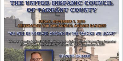 United Hispanic Council of Tarrant County 34th Annual Banquet