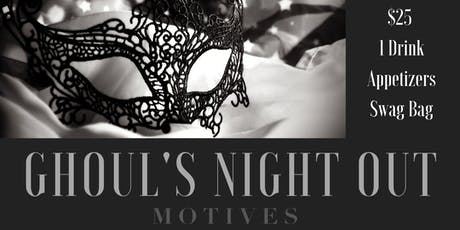 Ghoul's Night Out with Motives Cosmetics tickets