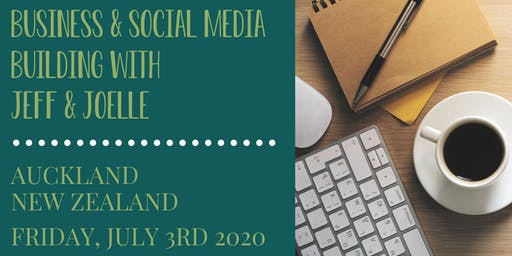 Jeff Gellman's Business & Social Media Building Workshop - New Zealand