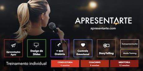 Curso ApresentArte - Apresentações Profissionais & Formação de Palestrantes - out/nov. 2019 fev./mar./mai 2020 ingressos