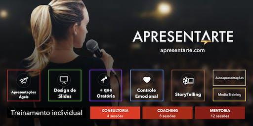 Curso ApresentArte - Apresentações Profissionais & Formação de Palestrantes - out/nov. 2019 fev./mar./mai 2020