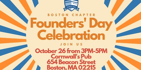 Boston Alumni Chapter Founders' Day Celebration - Semester at Sea tickets