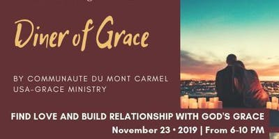 DINER OF GRACE - A singles' event
