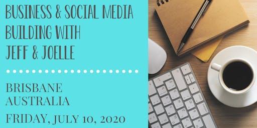 Jeff Gellman's 2 Business & Social Media Building Workshop - Brisbane Australia