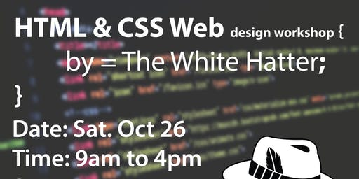 HTML & CSS Web Design- The White Hatter Teen Coding Academy