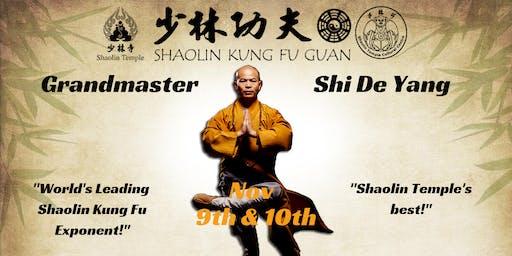 Shaolin Warrior Monk Seminar - Grandmaster Shi De Yang
