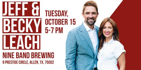 Pints and Politics with Jeff & Becky Leach tickets