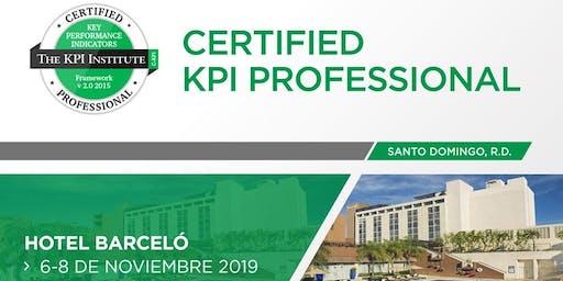 Certified KPI Professional-November 2019