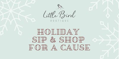 Holiday Sip & Shop for a Cause!