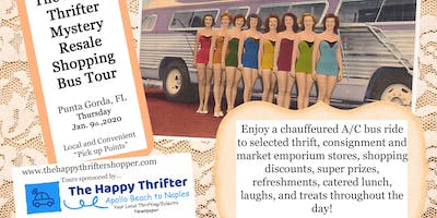 Mystery Resale Shopping Bus Tour-***** Gorda, Thursday, Jan. 9th, 2020