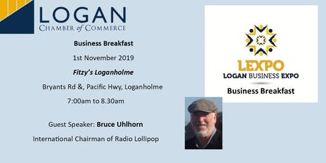 Logan Business LExpo Breakfast tickets