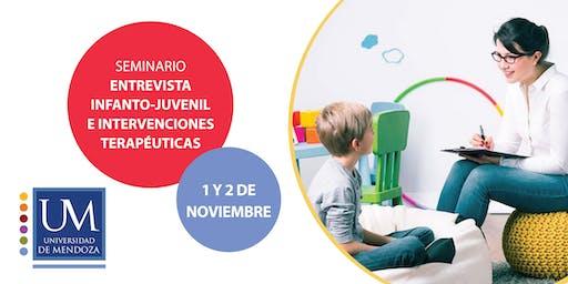 Entrevista Infanto-Juvenil e Intervenciones  Terapéuticas
