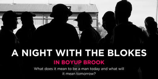 Tomorrow Man - A Night With The Blokes at Boyup Brook