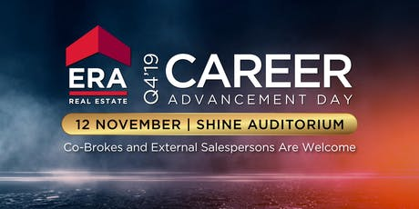 Q4'19 Career Advancement Day tickets