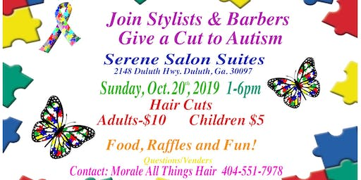 CUT-A-THON for AUTISM Food, Raffles, and Fun!
