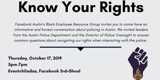 Facebook Black@: Know Your Rights