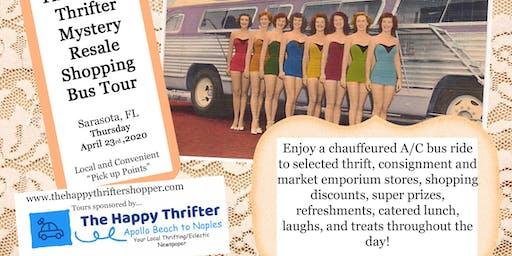 Mystery Resale Shopping Bus Tour- Sarasota, Thursday, April 23rd, 2020