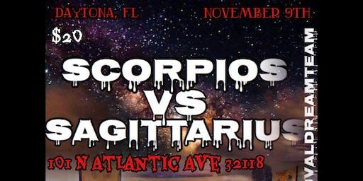 Scorpio VS Sagittarius Daytona Bash