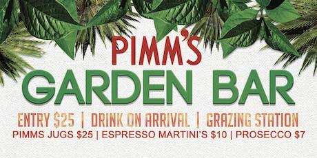 Pimms Garden Bar tickets
