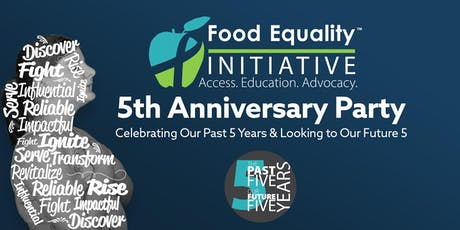Food Equality Initiative 5th Anniversary Party tickets