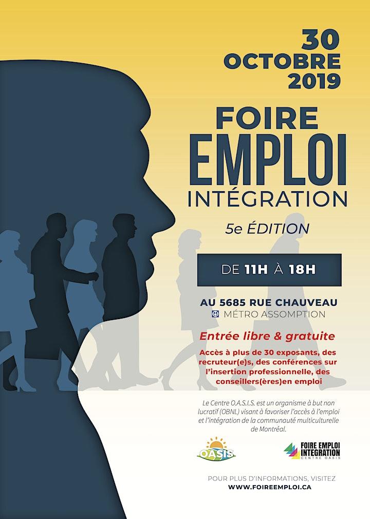 Image de FOIRE-EMPLOI INTÉGRATION 2019
