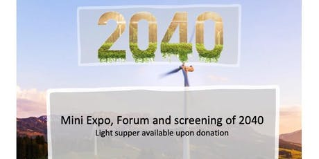 "Kingborough Mini Expo and ""2040"" Showing tickets"