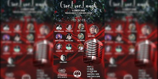 Suitman Productions presents: Give Love Laugh: A Charity Comedy Show