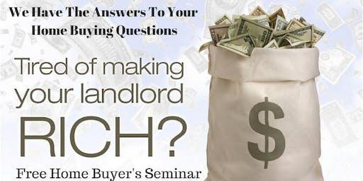 Renters To Homeowners Seminar