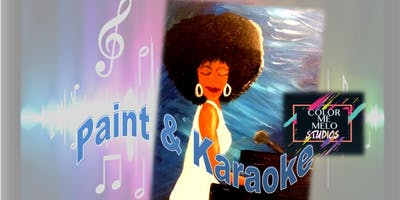 PAINT & KARAOKE @ Color Me Melo Studio Upland, CA
