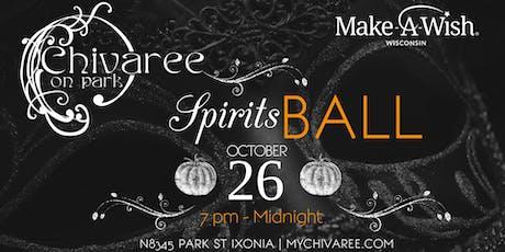 1st Annual Spirits Ball tickets