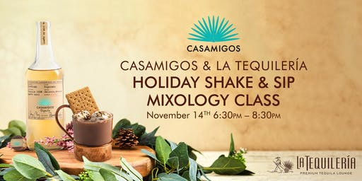 Holiday Shake & Sip Mixology Class