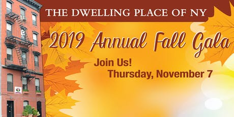 The Dwelling Place of NY's 2019 Annual Fall Gala tickets