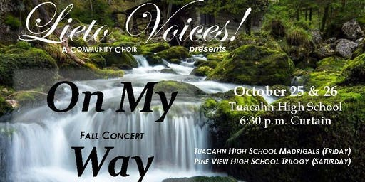 Lieto Voices Fall Concert