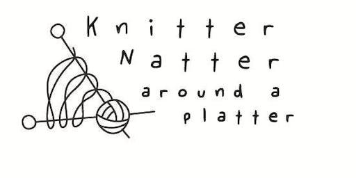 Knitter Natter around a platter
