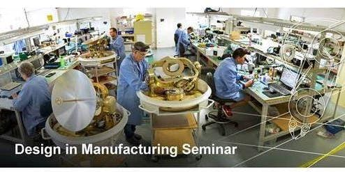 Design in Manufacturing Seminar - Darra 12 Nov 2019