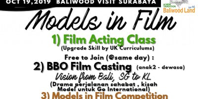 Models in Film, Surabaya Multi Talent Events , 19 Oct 2019