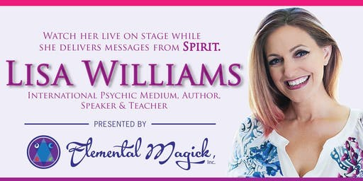An Evening with Lisa Williams