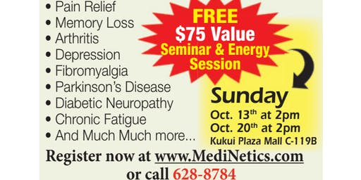 ENERGY HEALING WHILE YOU SLEEP?: EES Orientation, Sunday, Oct.20,2019 at 2pm
