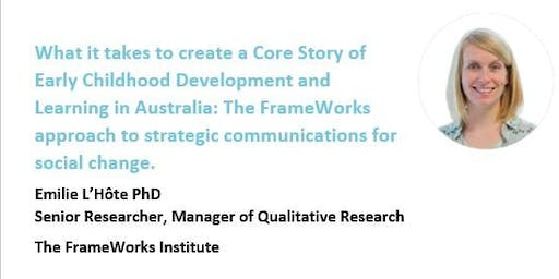 The FrameWorks approach to strategic communications for social change.