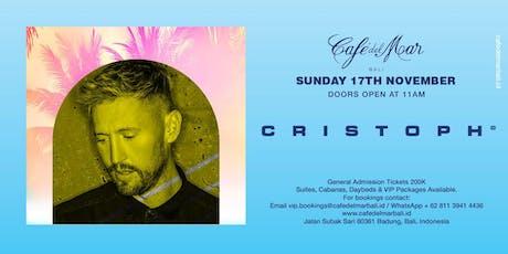 Café del Mar Bali presents  Cristoph tickets