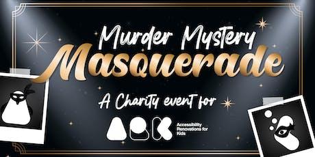 ARK's Murder Mystery Masquerade tickets