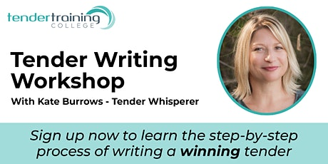 Tender Writing Workshop tickets