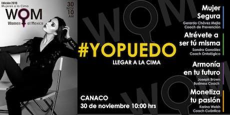 Conferencia WOM - Women of Mexico entradas