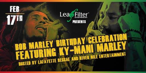 Bob Marley Birthday Celebration Feat. KY-MANI MARLEY!