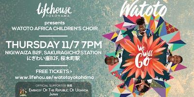 Watoto Africa Children's Choir in Yokohama