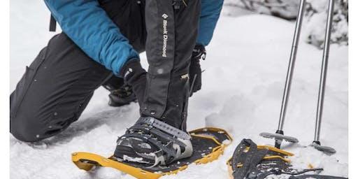 Chinook Snowshoe hike in Fairbanks